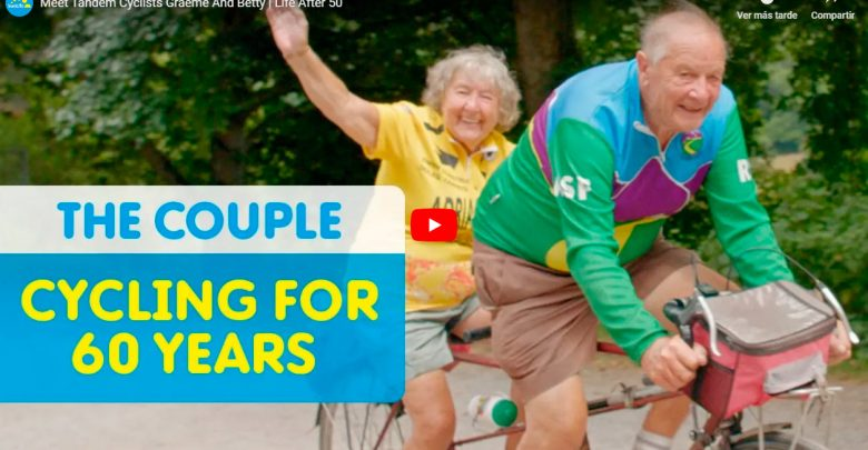 Photo of Meet Tandem Cyclists Graeme And Betty