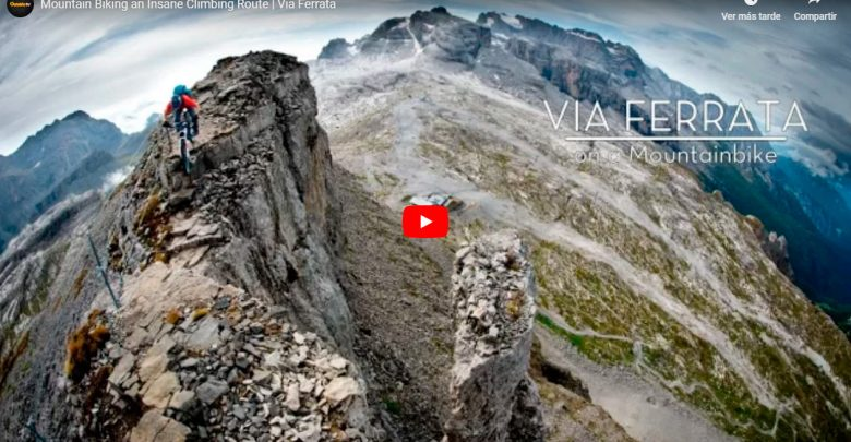 Photo of Via Ferrata | Mountain Biking an Insane Climbing Route