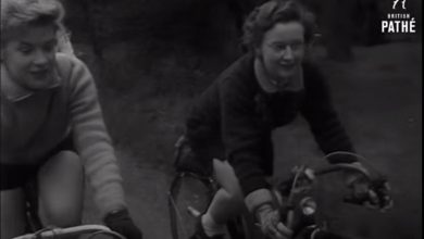 Photo of Girl Cyclists (1954)