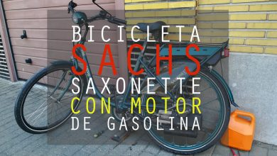Photo of Bicicleta Sachs con motor de gasolina