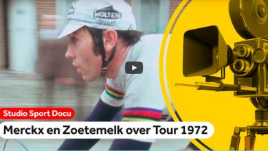Photo of Eddy Merckx, Luis Ocaña y Joop Zoetemelk. Reportaje de 1972